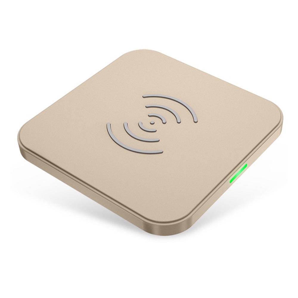 ワイヤレスチャージャー ワイヤレス充電器 超薄型 コンパクト Qi認証/Wireless charger T511S-GD