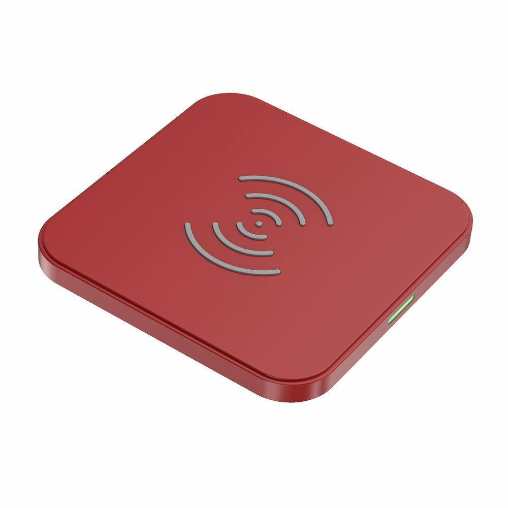 ワイヤレスチャージャー ワイヤレス充電器 超薄型 コンパクト Qi認証/Wireless charger T511S-RE