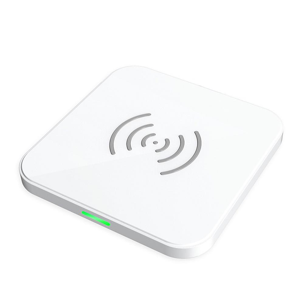 ワイヤレスチャージャー ワイヤレス充電器 超薄型 コンパクト Qi認証/Wireless charger T511S-WH