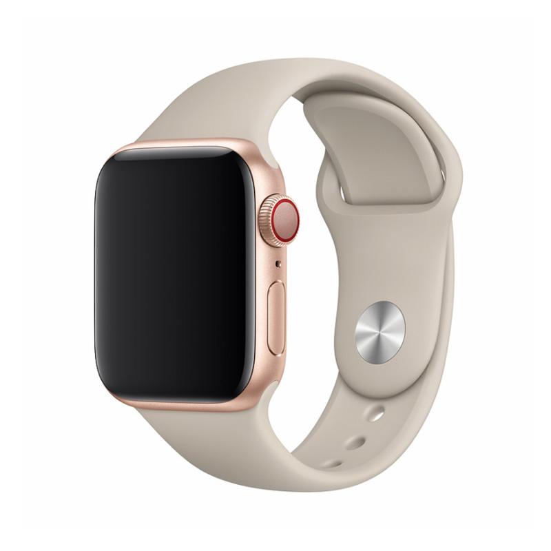 Apple Watch 40 / 38 mm さらさら シリコン製 スポーツ バンド / Deluxe Series Sport Band