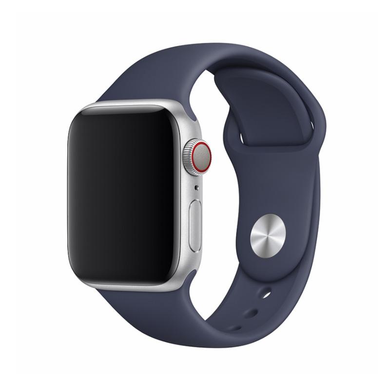 Apple Watch 44 / 42 mm さらさら シリコン製 スポーツ バンド / Deluxe Series Sport Band