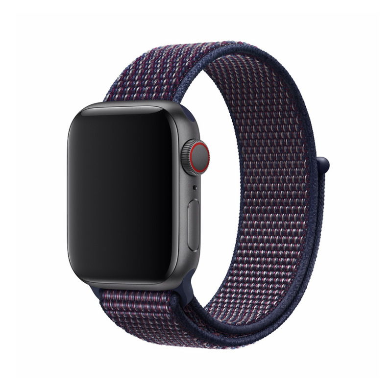 Apple Watch 40 / 38 mm 無段階調整 ファブリック生地 ロハス /Deluxe Series Sport3 Band