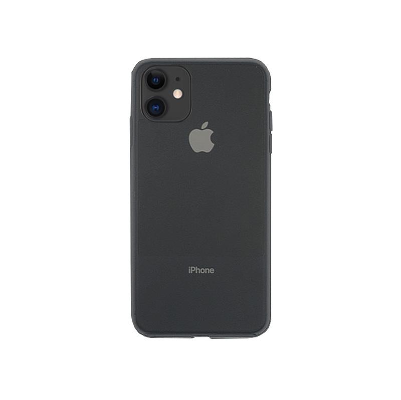 2019 iPhone 6.1 ハイブリッドケース 新端末のカラーに合わせた 汚れが消える 半透明 リキッドシリコンケース/CONTRAST SILICON
