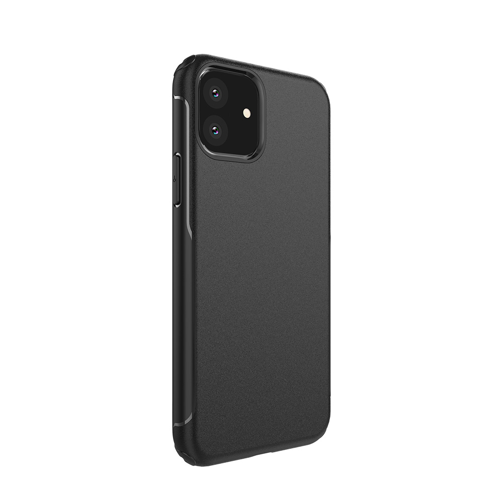 iPhone11 6.1 ケース ツートンカラー 画面から音が出る ドロップテスト済み/X-Fitted Dual