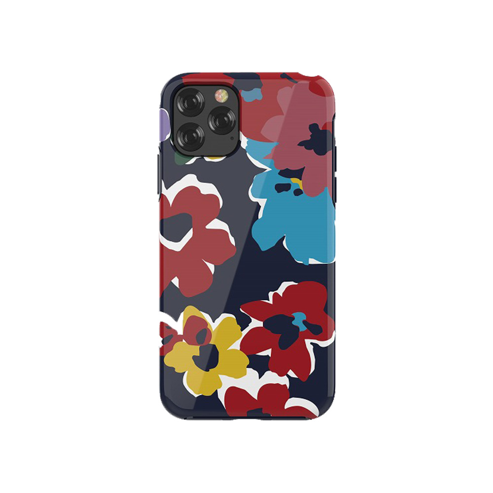2019 iPhone 5.8 ハイブリッドケース 華やかな水彩カラー アーティスティックな花柄デザインケース/Perfume lily series case